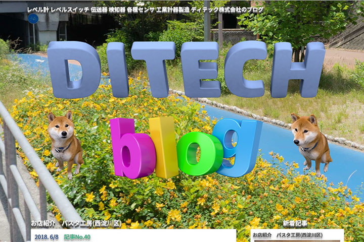 DITECH's Blog Site has been launched.